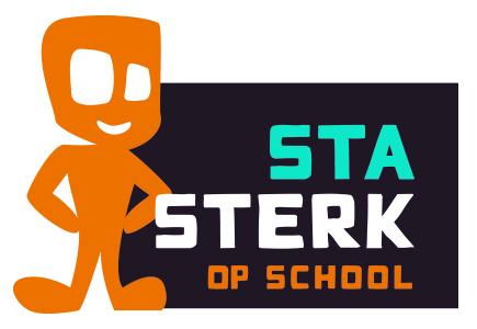 Logo Sta Sterk op school